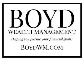Boyd Wealth Management Ad for Neighbor to Neighbor - with Tagline